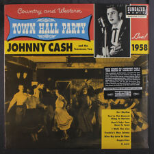 JOHNNY CASH: Live At Town Hall Party 1958 LP Sealed (Mono, high quality vinyl p