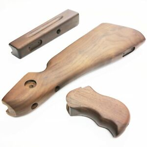 Airsoft RA-TECH Walnut Wood Kit (Deluxe Version) for Cybergun M1A1 Thompson GBB