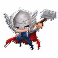 Thor/'s Hammer Mjonir Viking THOR MARVEL BADGE Embroidered Patch Iron Sew Logo