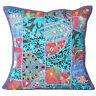Cushion Pillow Patchwork Cover Handmade Turkish Rug Indian 16 Sofa Home Decor