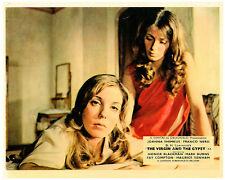 The Virgin and the Gypsy original lobby card Joanna Shimkus with girl