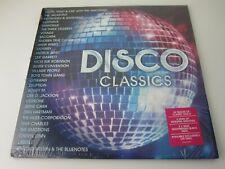 "New Disco Classics 30 party  tracks VInyl 12"" LP , slight dinks in corners"