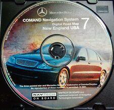 2000 2001 2002 Merdedes Benz S600 S500 S430 S55 CL600 Navigation #7 New England