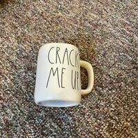 Rae Dunn Easter/Spring 2021 CRACK ME UP Mug Yellow Interior Brand New