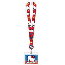 Sanrio Hello Kitty Reel Lanyard Key Chain ID Holder