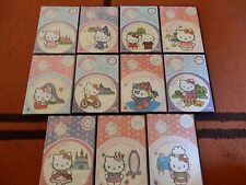 EXCELENTE LOTE HELLO KITTY 11 DVDS DONCHOLLO