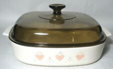 Corning Ware A10B  Forever Yours   10 x 10 x 2 Inch Covered Skillet / Casserole