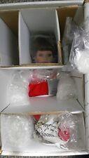 "NRFB Danbury ""Courtney"" Coca-Cola  Ice Skater Doll & Polar Bear Susan Wakeen"