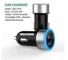 Highspeed 4.8 A 2x USB Ladegerät Zigarettenanzünder KFZ Auto Ladeadapter R18 WOW