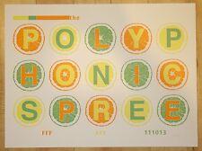 2013 Polyphonic Spree - Austin Silkscreen Concert Poster by Farley Bookout