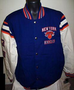 NEW YORK KNICKS 2 TIME NBA FINALS CHAMPIONS Jacket M L XL