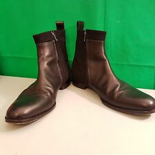 Mens VIKTOR & ROLF Monsieur  Suede Leather Chelsea Boots Size UK 7 EU 41 (h3)