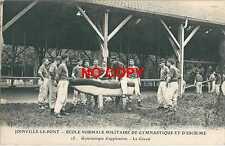 CPA Joinville le Pont Ecole Militaire Gymnastique Escrime Cheval d'arçon Sport