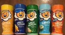 PACK of 5 Flavors KERNEL SEASON'S Movie Popcorn Seasoning Sampler