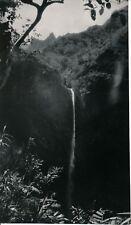 TAHITI c. 1940 - Chute de la Fontana Photo Nordmann  - NV 2092