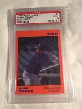 1988 MARK GRACE STAR CO. ROOKIE CARD #1 GRADED PSA 9 POP 3
