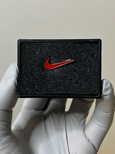 Red Nike Swoosh Pin