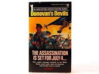 VG! Assassination Is Set for July 4... (Donovan's Devils 1): by Lee Parker (PB)