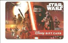 Disney Star Wars Gift Card No $ Value Collectible