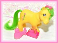 ❤️My Little Pony MLP G1 VTG UK Euro Exclusive Magic Star Non So Soft NSS BRUSH❤️