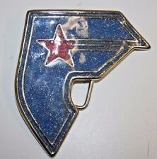 Nice Blue Famous Stars & Straps Flashy Letter F Logo Unisex Belt Buckle