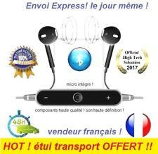 bluetooth Ecouteurs sans fil rechargeable Stéréo Micro iPhone Samsung Meizu HTC