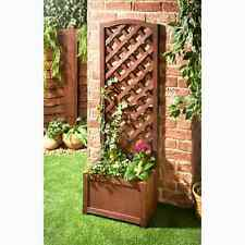 Wooden Garden Trellis Planters Bo