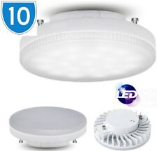 10x 9W GX53 240v Under Cupboard Fluorescent Light Bulb Lamp Downlight Cool White