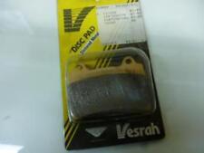 Plaquette de frein Vesrah Moto YAMAHA 750 Fzr R 1987-1988 AVG / AVD Neuf