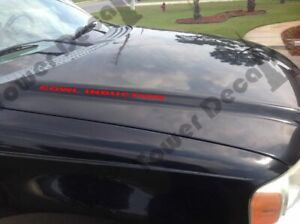 ⚠️Pair of 5.3L PERFORMANCE hood Decal Chevy Silverado GMC Z71 Avalanche Sierra