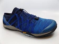 Merrell Trail Glove 4 Knit Running Athletic Shoes Men's SZ 14.0 M, Blue, D10188