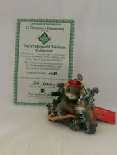 12 Drummers Drumming Charming Tails 12 Days Of Christmas Hamilton Collection