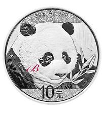 Silbermünze China 10 Yuan Silber China Panda 2018 (Feinsilber 30 g)