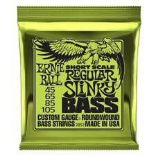 Ernie Ball P02852 Regular Slinky Short Scale Bass Guitar Strings 45-105 - 2852