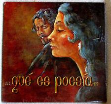 Gustavo Adolfo Becquer Que Es Poesia John Aragon Recitations 1975 Rare Sealed LP