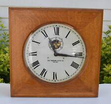 Beautiful Self Winding Clock Co in Oak Case, near complete & ready to wire!