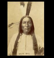 1880s White Bull PHOTO He Killed George Custer, Battle of Little Bighorn Indian