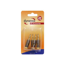 Dynavox High-End Bananenstecker Vergoldet Hifi Stecker Lautsprecherkabel 4er Set