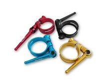Tmars Lightweight CNC Handle QR Seat Post Clamp black / red / blue / gold