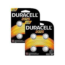 Duracell 2025 Alkaline Coin Battery - Pack of 8