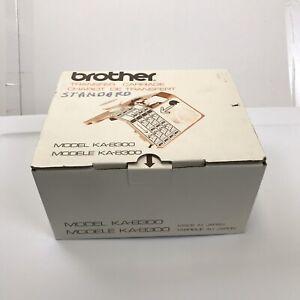 Brother Transfer Carriage Model KA-8300