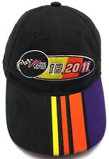 JOE GIBBS RACING black adjustable cap / hat  - 100% cotton
