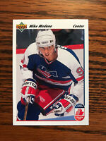 1991-92 Upper Deck #32 Mike Modano Hockey Card Dallas Stars NHL CC Raw