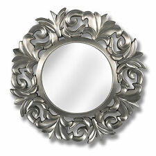 LARGE BAROQUE CIRCULAR  MIRROR - CAN BE PLACED ON A WALL IN THE HOME