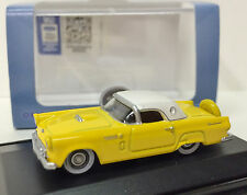 1:87 Ford '56 Thunderbird - Yellow  #56005 - Oxford Diecast Ltd. -NEW w/case