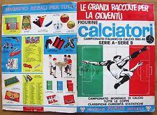 ALBUM FIGURINE PANINI CALCIATORI 1965-66 -Competo meno 12 Figurine* con CEDOLA