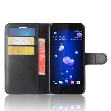 HTC U11 Life Handy Hülle Flip Case Schutz Tasche Cover Schutzhülle Etui schwarz