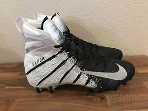 Nike Vapor Untouchable 3 Elite Flyknit Football Cleat Black/Mtlc Slvr AH7408-102