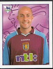 Merlin 2001 Football Sticker No 33 - Aston Villa - Alan Wright