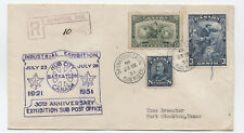 1951 Canada registered Industrial Exhibiton cover Saskatoon  Scott 194  [y3004]